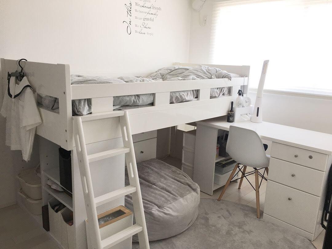 《web内覧会》~子供部屋編~狭い部屋に置ける収納や家具