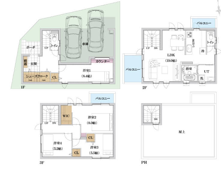 《建売住宅》3階建て*我が家の間取りの良い点・悪い点