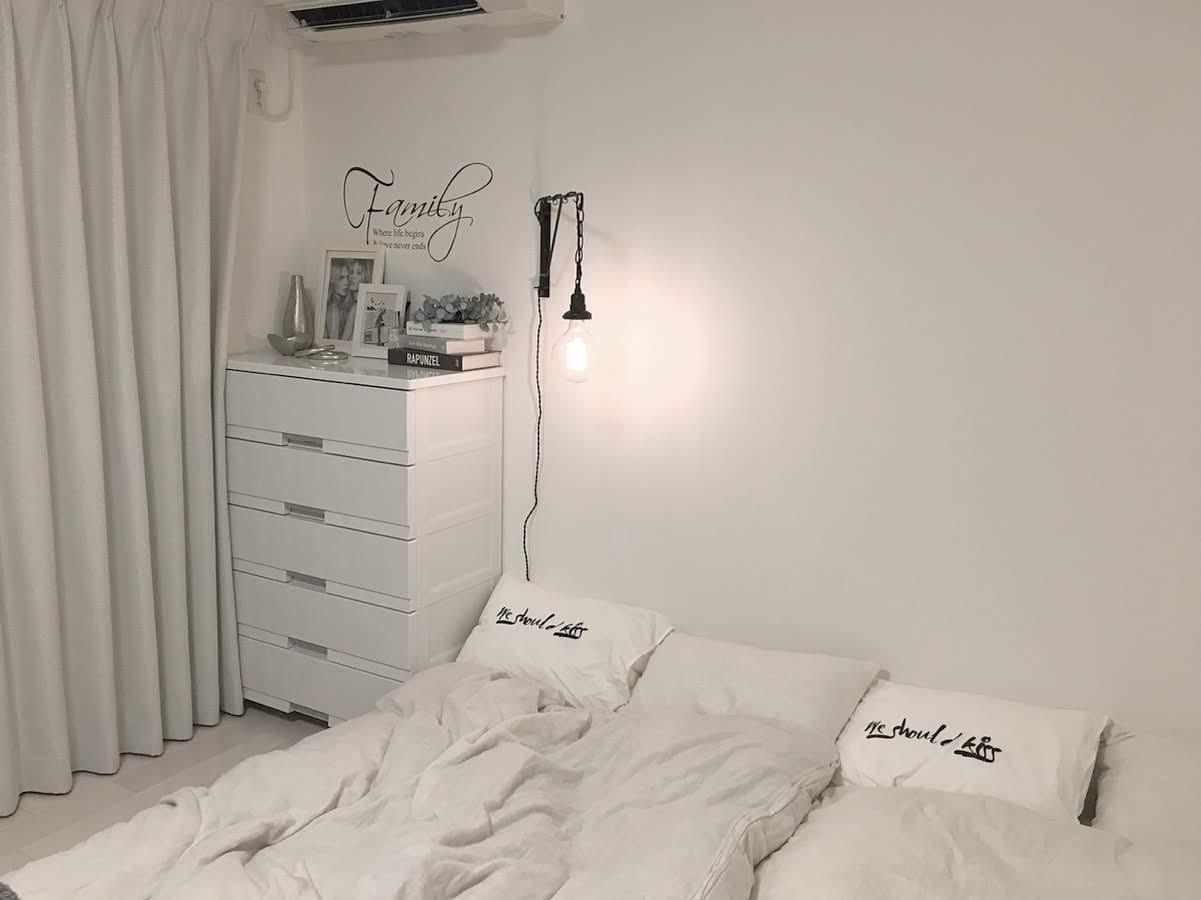 《寝室の照明》簡単に付けることのできる*おしゃれな壁掛けブラケットライト!