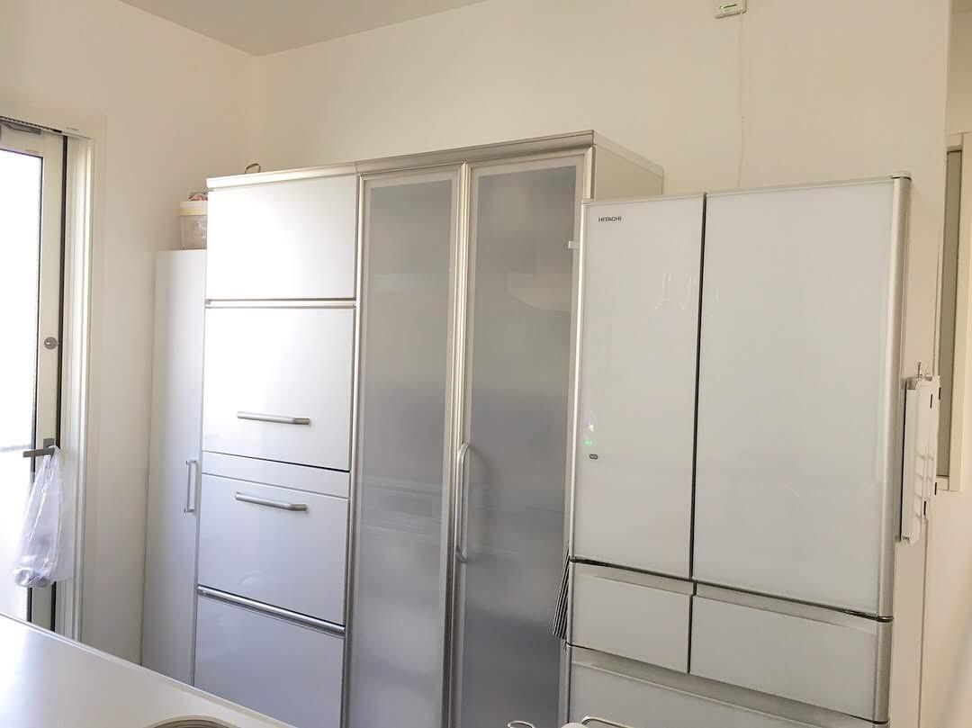 《建売住宅の我が家》パントリーのないキッチンの解消法とキッチン家具