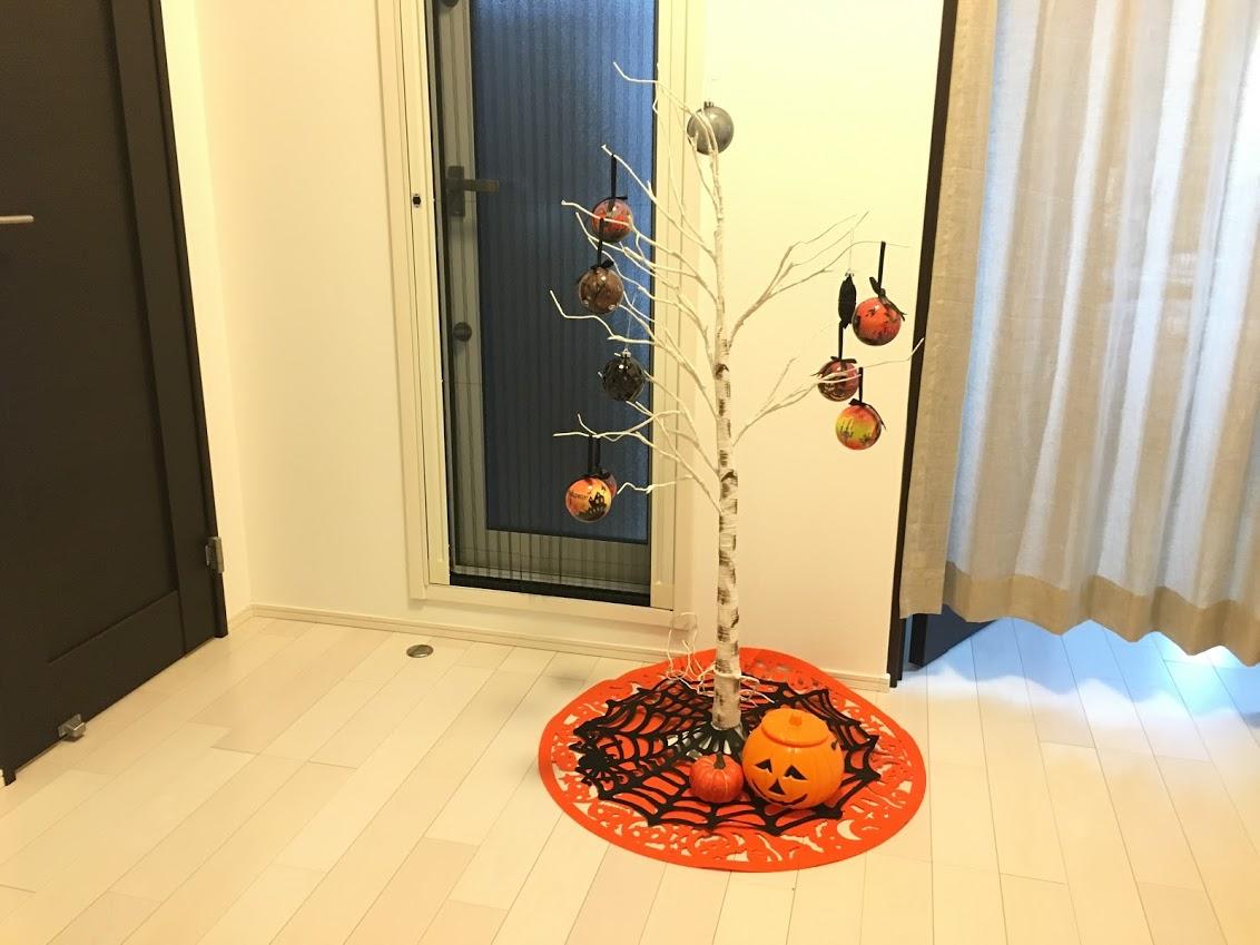 《2018年版》プチプラでニトリ・100均の物を使ってハロウィンの飾りつけ