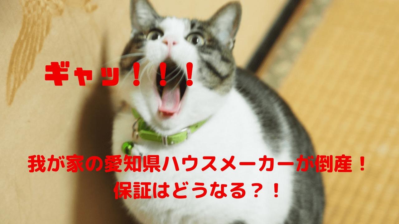 我が家の愛知県ハウスメーカーが倒産!保証はどうなる?!