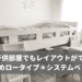 狭い子供部屋でもレイアウトができるおすすめロータイプ*システムベッド!